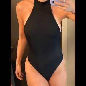 Brand new SEXXY halter snap crotch XS bodysuit